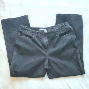 Chico's Platinum Dark Gray Jeans - Bootcut